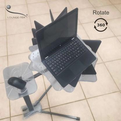 Il supporrto regolabile per PC portatile che ruota di 360 gradi