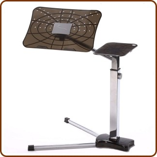 a laptop support tio improve ergonomic features of mobile devices at home