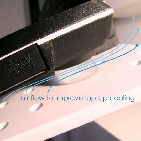 Improve stability and Cooling of Laptops
