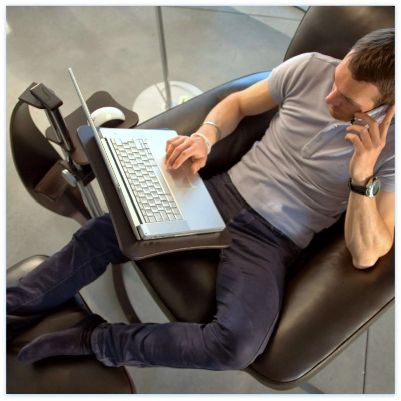 comfortable laptop table