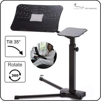 supporto per laptop ergonomico e confortevole