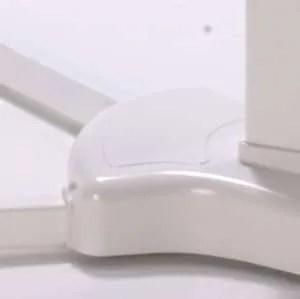 copriviti e sostegno gambe struttura white