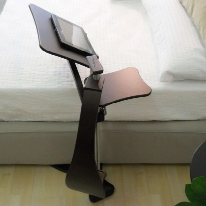 bedside table useful for laptop