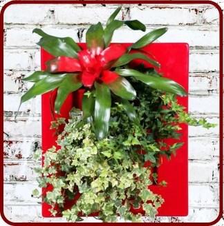 walllmount flower planters