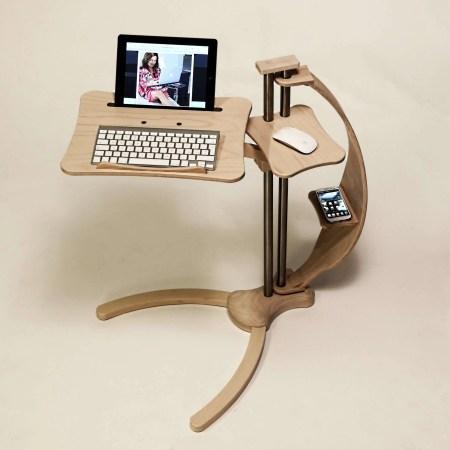 support pour tablette tactile ergonomique