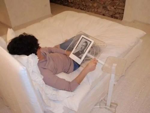ergonomia relax e comfort per tablet e e-book