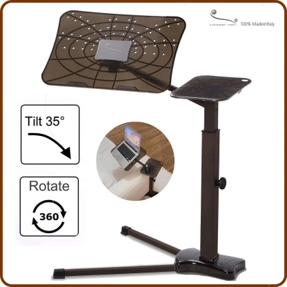 The laptop support that allow to find a correct posture using laptop at home