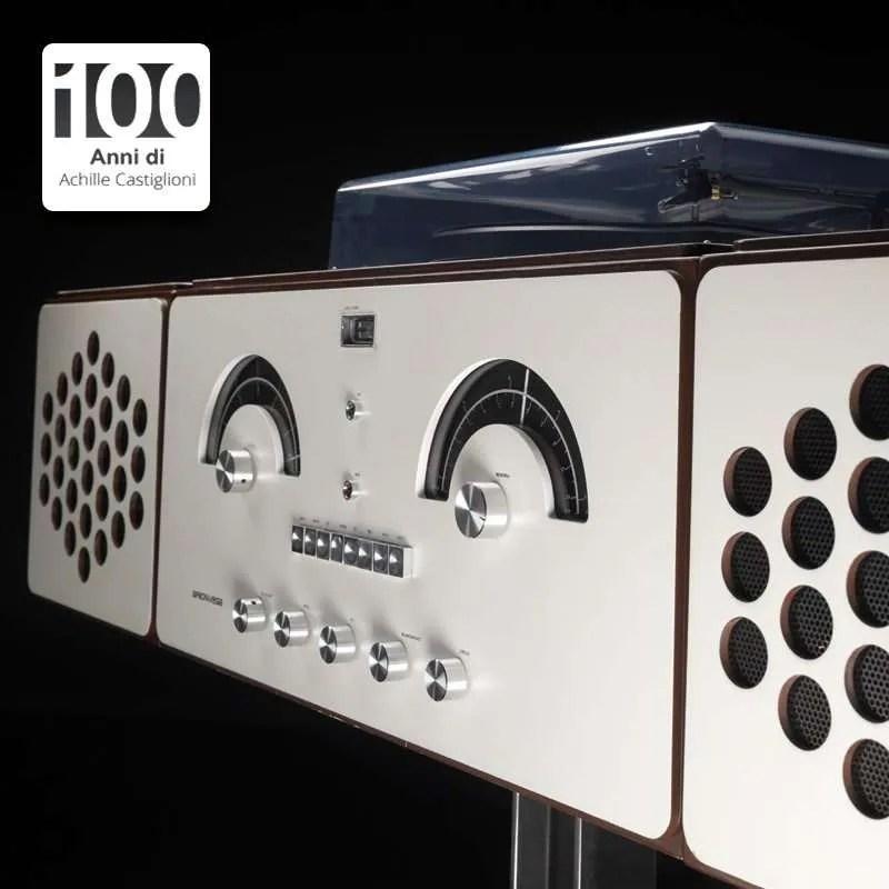 Il radiofonografo di achille castiglioni per brionvega