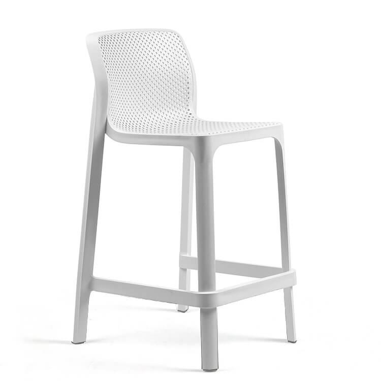 nood white bar stool