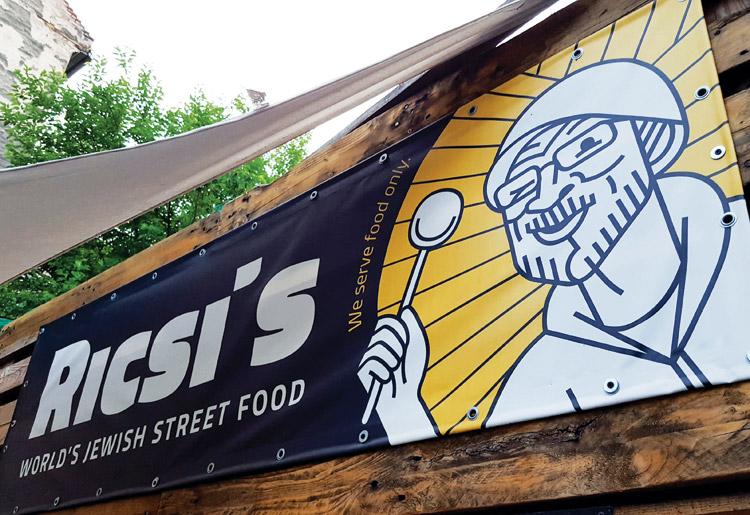 Ricis - żydowski street food