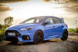 Ford Focus RS - poczuj się jak Colin McRea
