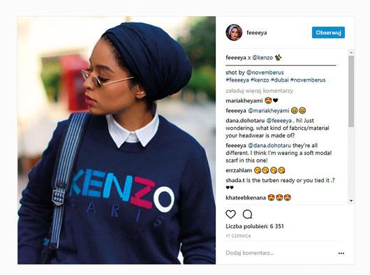 hidżab naInstagramie Najmodniejszy hidżab naInstagramie 3
