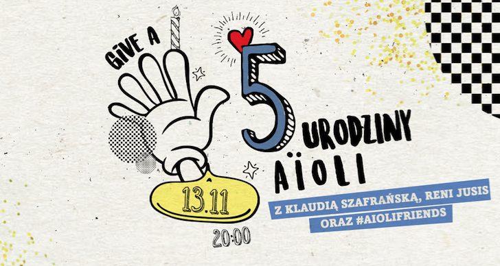 AïOLI ma już 5 lat! #aiolifriends AïOLI ma już 5 lat! #aiolifriends 1