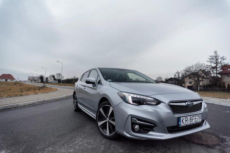 Subaru Impreza - wdobrą stronę [test] Subaru Impreza - wdobrą stronę [test] 6