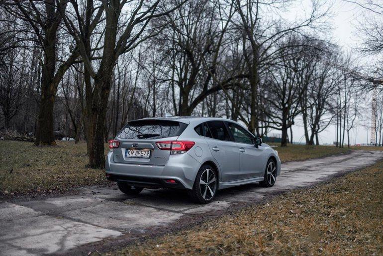 Subaru Impreza - wdobrą stronę [test] Subaru Impreza - wdobrą stronę [test] 5