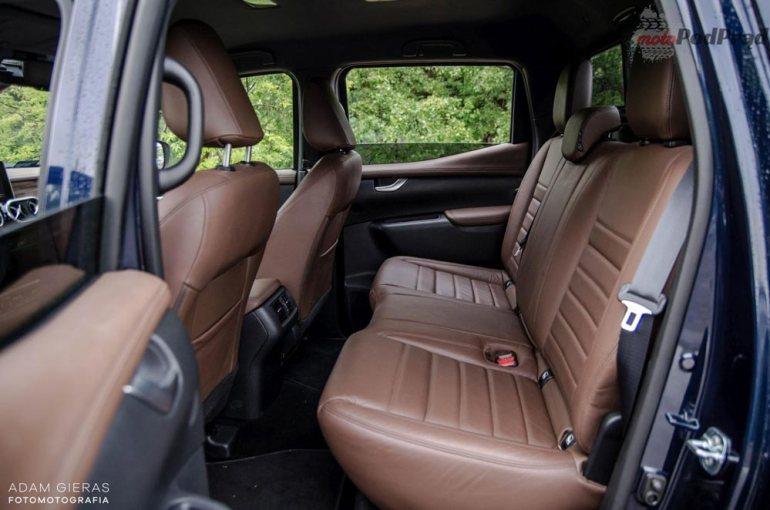Mercedes X250d - czypick up może być luksusowy? [test] Mercedes X250d - czypick up może być luksusowy? [test] 6