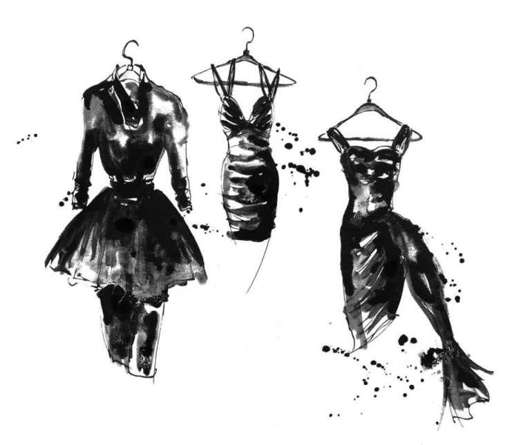 """Mała czarna - Ponadczasowy """"mundur wszystkich kobiet zgustem"""" Mała czarna - Ponadczasowy """"mundur wszystkich kobiet zgustem"""" 1"""