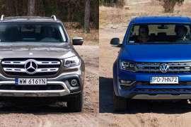 Mocarny pojedynek: Volkswagen Amarok Aventura V6 3.0 TDI VS. Mercedes X350d V6 [test]