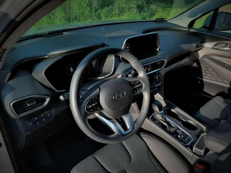 Hyundai Santa Fe Hyundai Santa Fe - czytym razem będzie nowocześnie iwygodnie? [test] 2