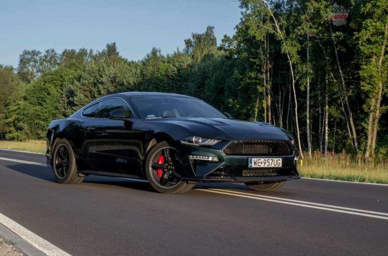 Ford Mustang Bullitt 5.0 V8 – być jak gwiazda Hollywood [test] Ford Mustang Bullitt 5.0 V8 – być jak gwiazda Hollywood [test] 2