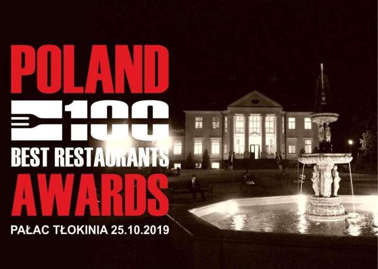 POLAND 100 BEST RESTAURANTS POLAND 100 BEST RESTAURANTS AWARDS 2019 – FINAŁ! 1