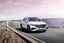 Elektryczny Mercedes EQA już w salonach
