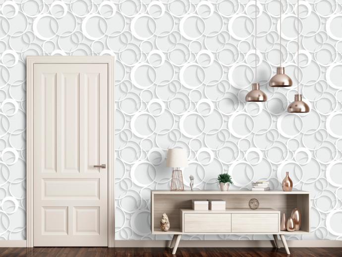 Tapety Tapety inspirowane geometrycznymi wzorami doróżnych stylów 1