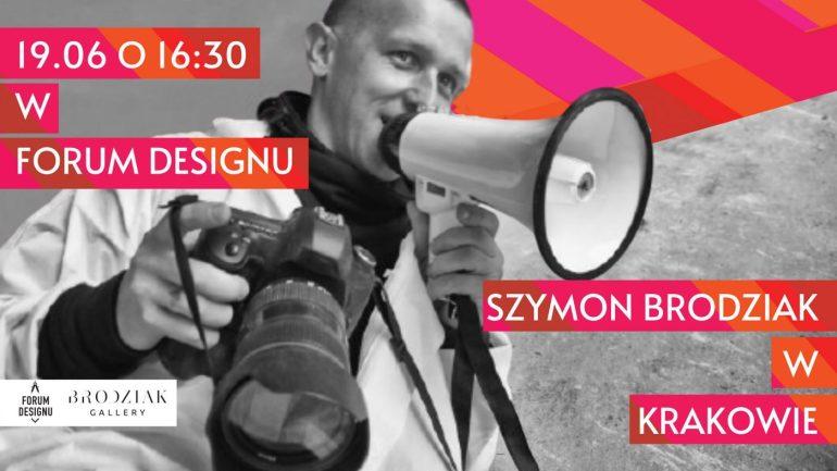 Szymon Brodziak Wybitny fotograf Szymon Brodziak przyjeżdża doKrakowa 2
