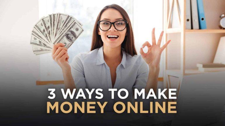 3 Sposoby naZarabianie 3 Sposoby naZarabianie Pieniędzy Online 1
