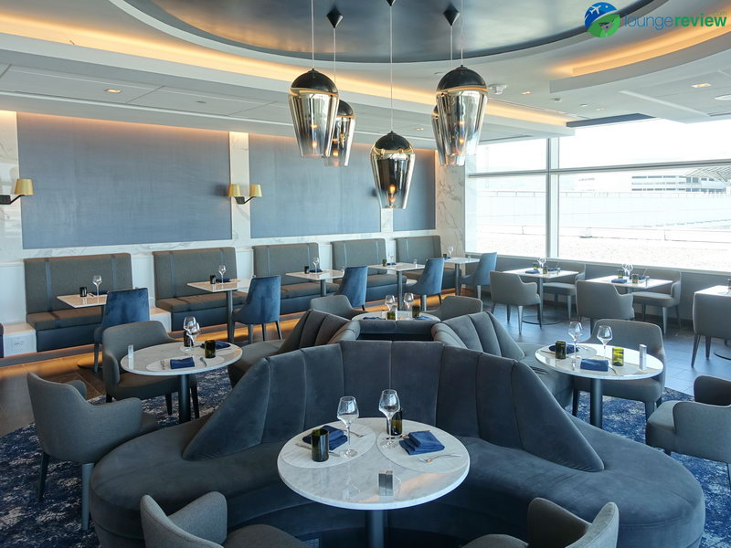 First Look United S Stunning New Polaris Lounge At San