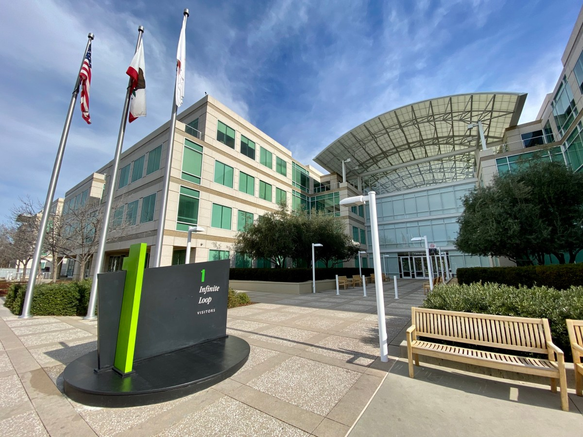 Apple at 1 Infinite Loop, Cupertino