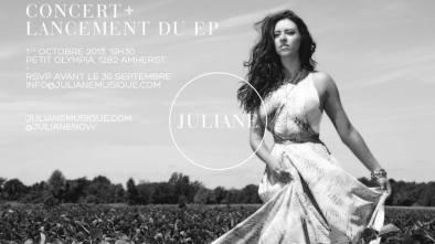 Lancement de Julianne