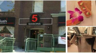 5 saisons sushis Montreal