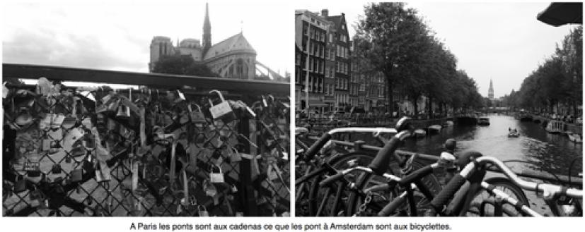 Amsterdam bicyclette cadenas