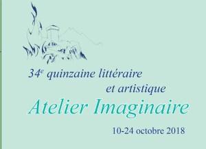 34ème Quinzaine littéraire et artistique du 10 au 24 octobre