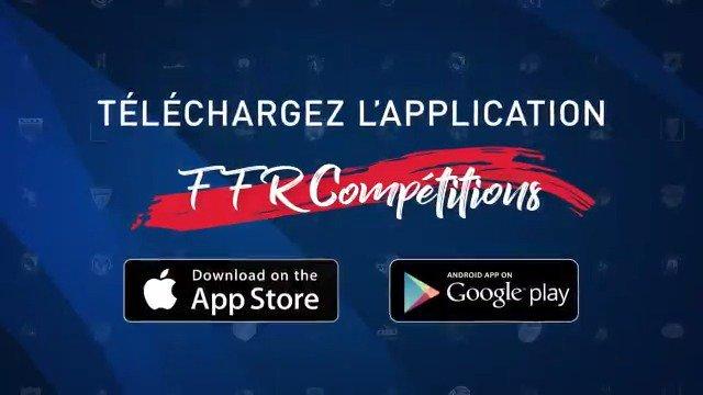 Lancement de l'application mobile Fédération Française de Rugby Compétitions