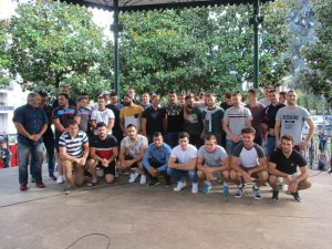 Lourdes : Première présentation festive des équipes de rugby