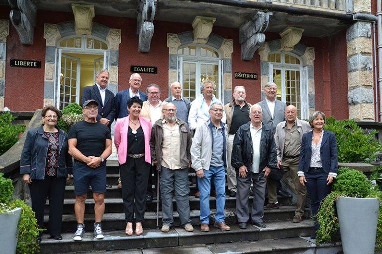 Lourdes : Réception en Mairie pour le Cinquantenaire du Circuit de l'Espérance