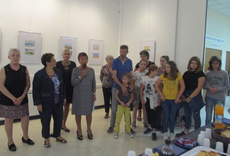 Lourdes : Vernissage de l'expo « Pyrénées magiques »