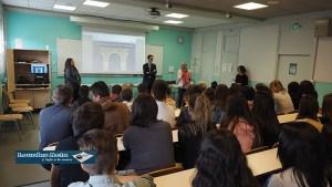Lourdes : la prestigieuse école de l'ENA a été présentée au lycée de Sarsan