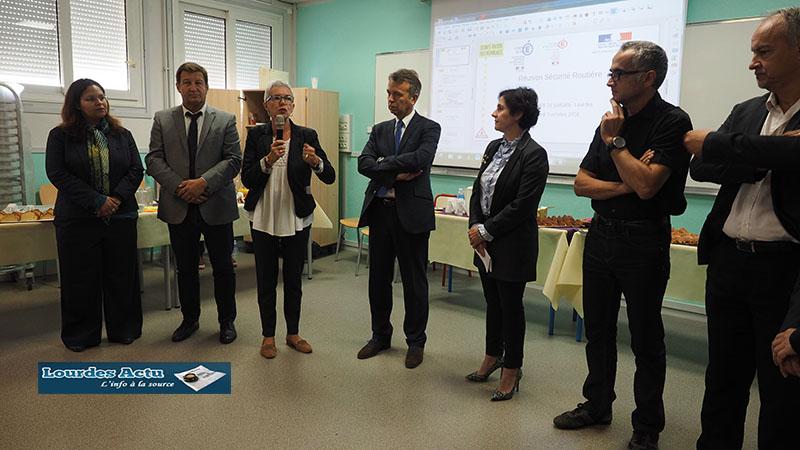 Lourdes : Journée de travail sur la Sécurité routière au Lycée de Sarsan