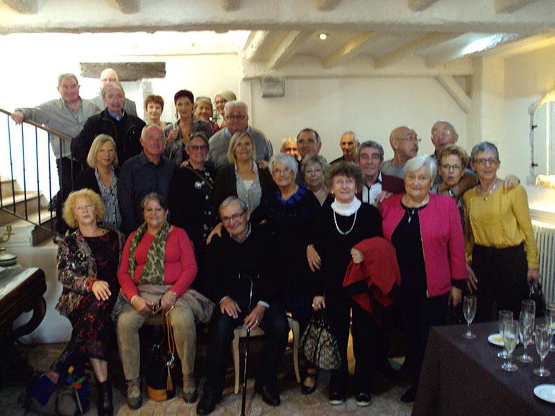 Lourdes : la Classe 67 en Repas automnal