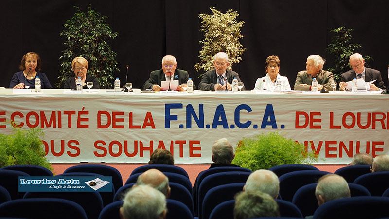 Lourdes : Assemblée Générale de la FNACA