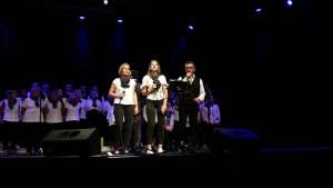 Lourdes : une nouvelle fois « Saint-Pé chante » a ravi l'espace Robert Hossein