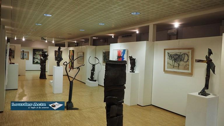 Lourdes : inauguration d'une très originale expo de Jean-Marc Luce