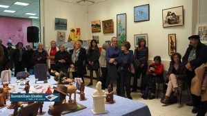 Lourdes : Vernissage de l'expo de l'association « Courbes et couleurs »