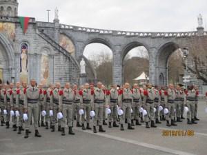 Lourdes : belle et originale cérémonie de remise de Képis blancs de la Légion