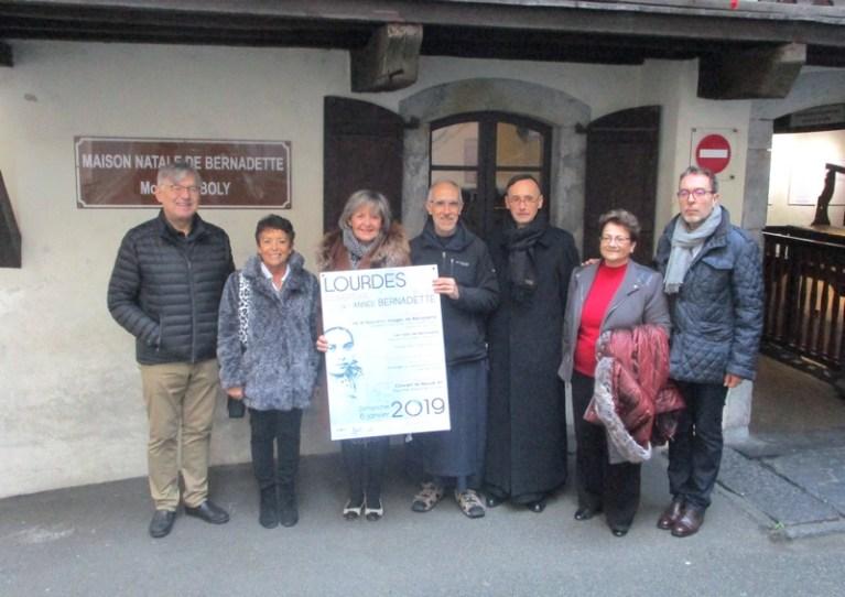 Lourdes : lancement de l'Année Bernadette