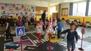 Lourdes : initiation aux dangers de la ville et de la circulation à l'école publique Darrespouey