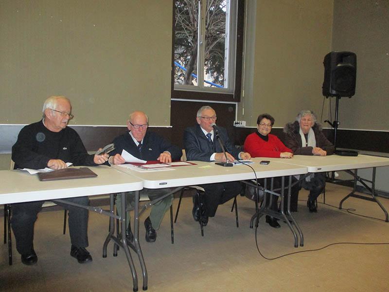 Lourdes : Assemblée générale et Galette des Rois de l'UNC